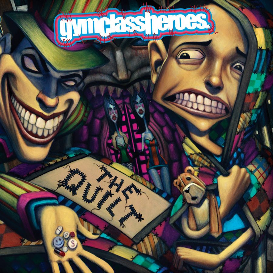 Gym Class Heroes - The Quilt | Lit | Gym classes, Album cover design