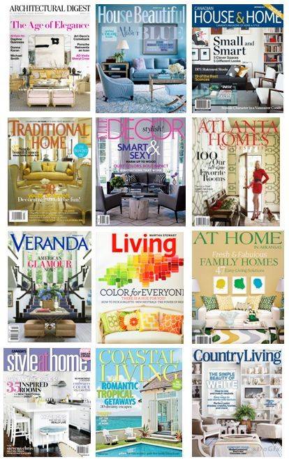 Living And Homes Magazines