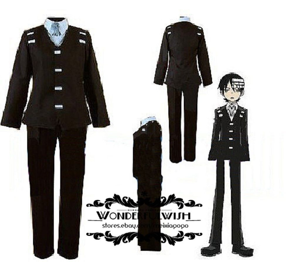 Cosplay · Halloween costume Soul Eater Death the Kid ...