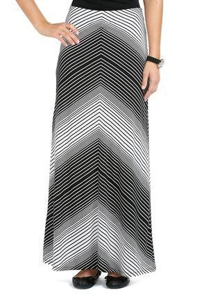 3f74c6f0b97 Cato Fashions Arrow Stripe Maxi Skirt  CatoFashions - New Black  17.99