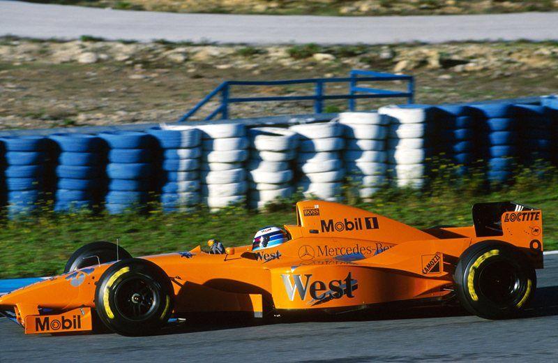 McLaren, pré-temporada de 1997
