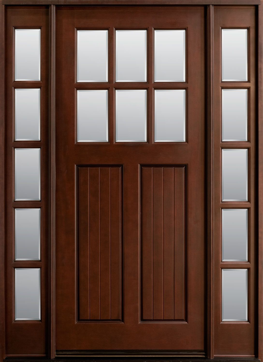 Solid wood entry and interior doors door pinterest for Wood front entry doors