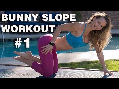 Bunny Slope Workout 1 Zuzka Light Beginner Workout Fun Workouts Best Workout For Beginners