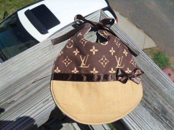 545d3fd57b59e Louis Vuitton Baby Clothes | Louis Vuitton inspired baby bib ...