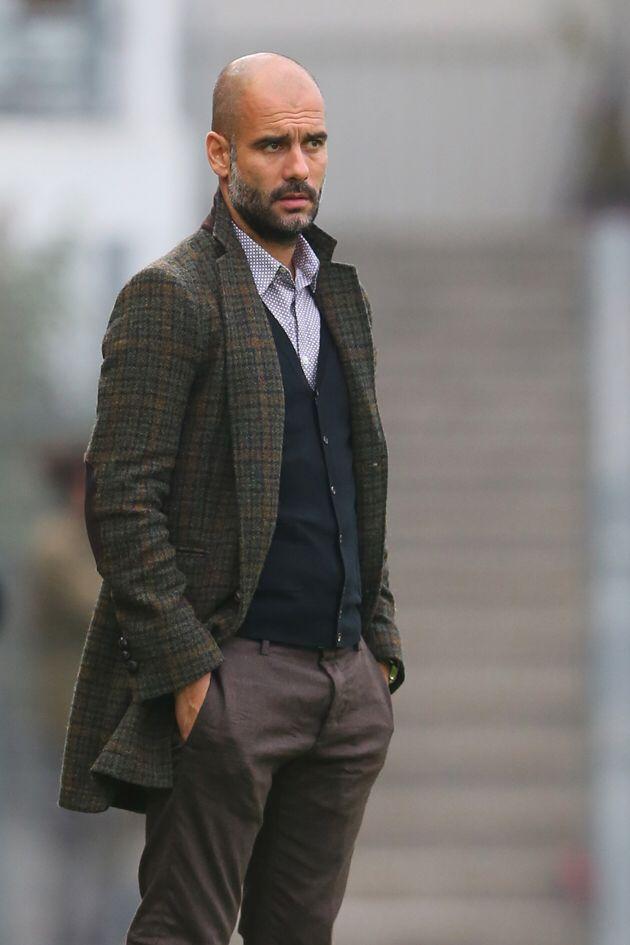 Pep Guardiola Style Pep Guardiola In 2019 Bald Men Style Bald