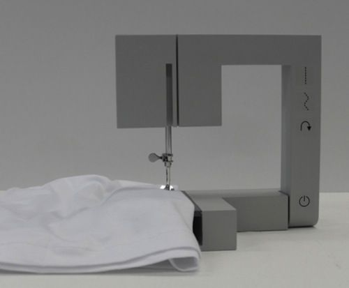 Foldable Sewing Machine by Richard Burrow