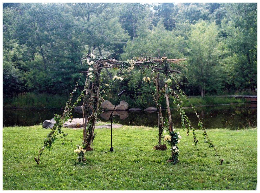 Maggi + Alex | Upstate New York Wedding | Barn on the Pond ...