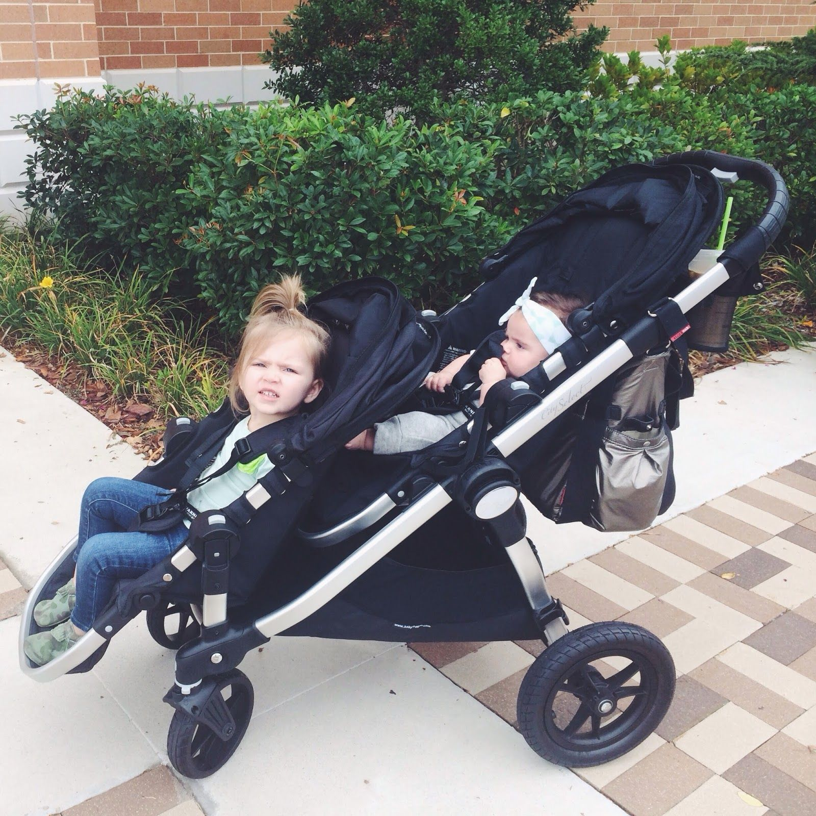 Baby Jogger City Select Double Stroller Thinking About