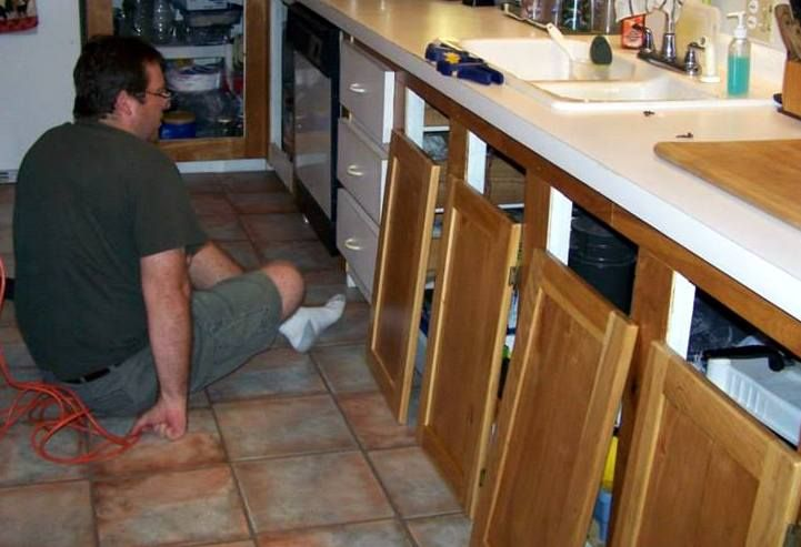 You Can Reface Kitchen Cabinets for a Lot Less with Your ...