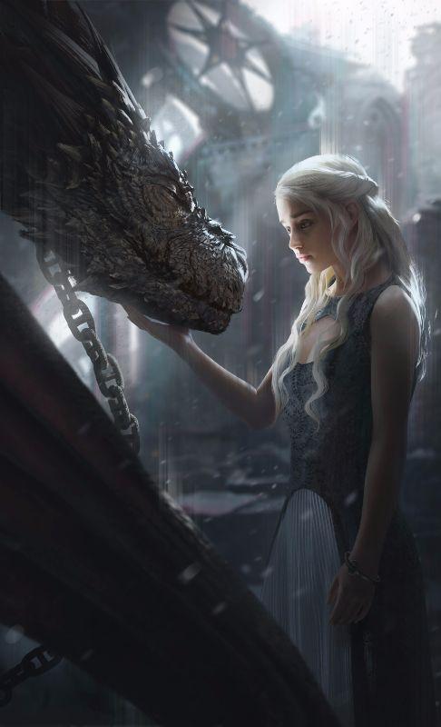 Emilia Clarke Daenerys Targaryen Game Of Thrones Com