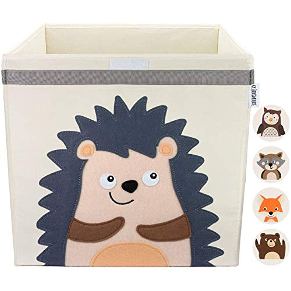 GLÜCKSWOLKE Kinder Aufbewahrungsbox I Spielzeugkiste mit