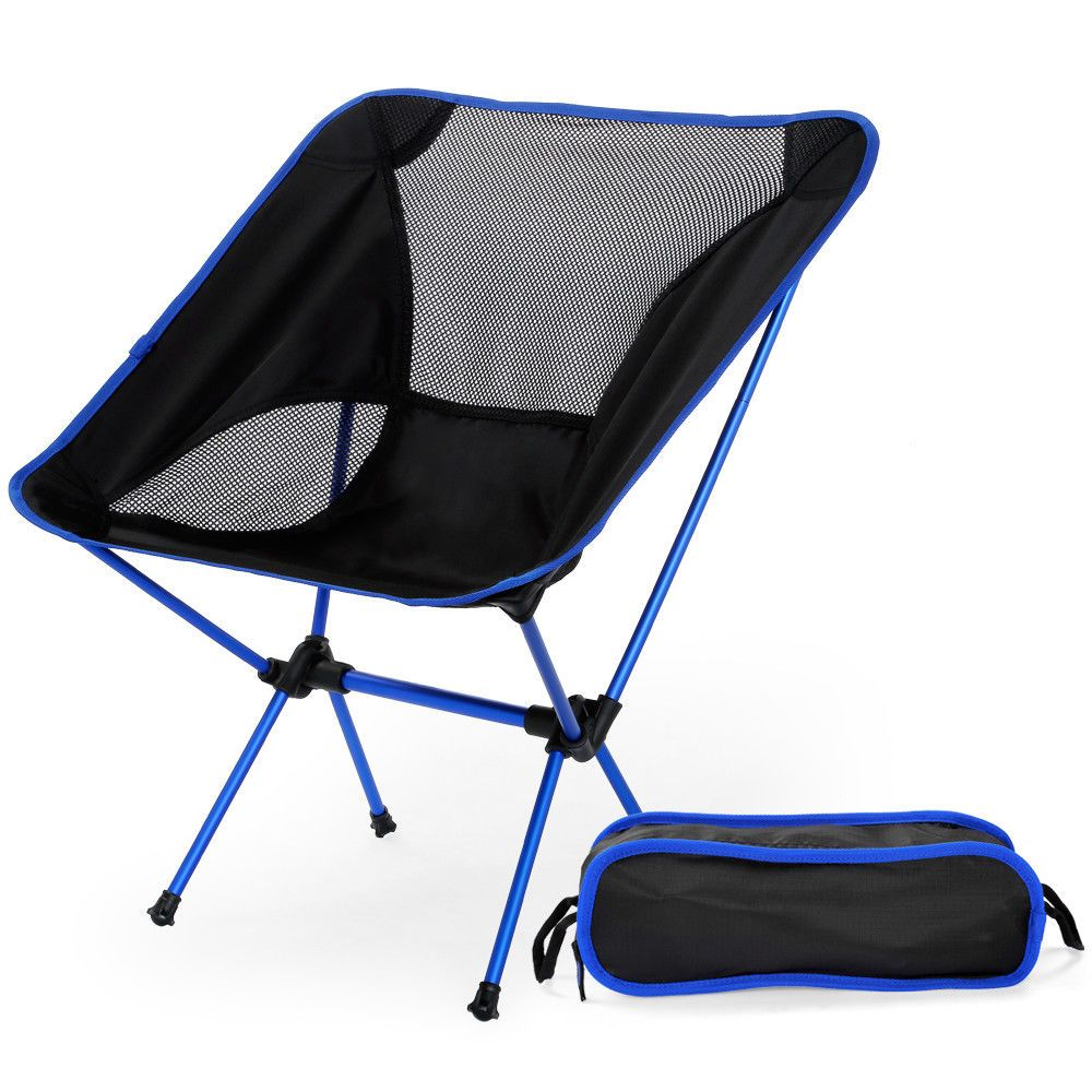 Lightweight Folding Chairs Hiking Small Upholstered Chair For Bedroom Breathable Beach Seat Fishing Picnic