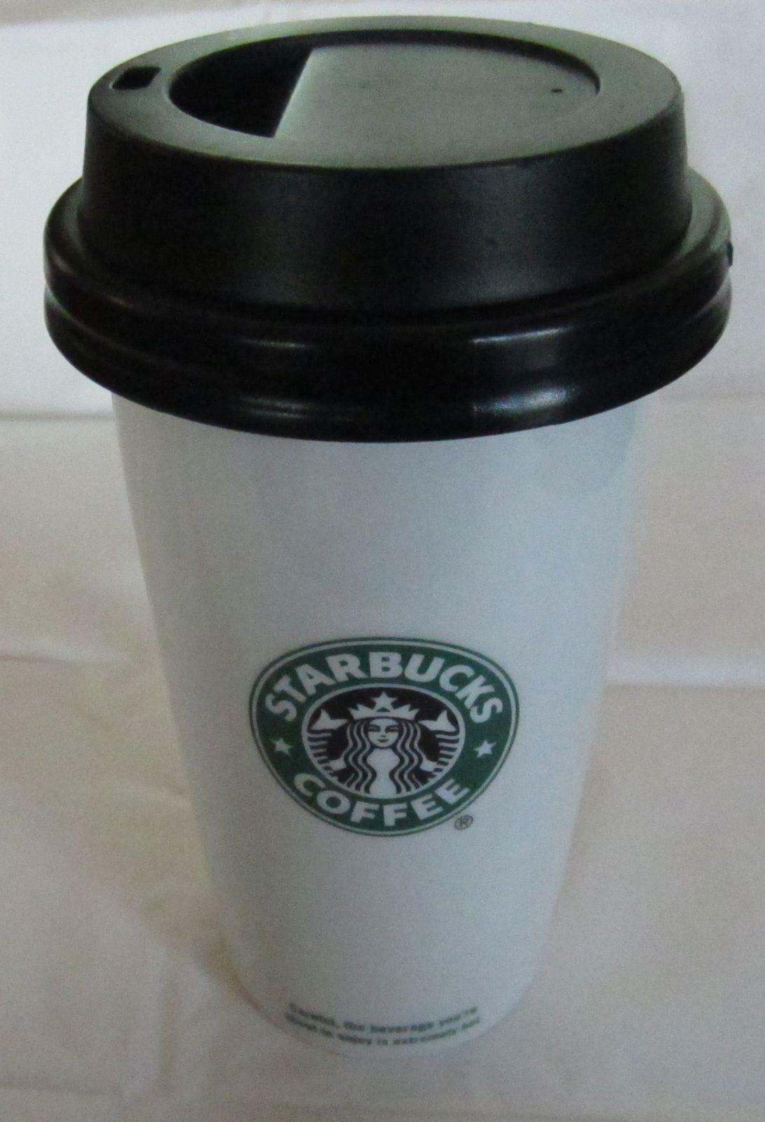 2009 Starbucks Mermaid 12 Oz. Ceramic Locking Silicon Lid