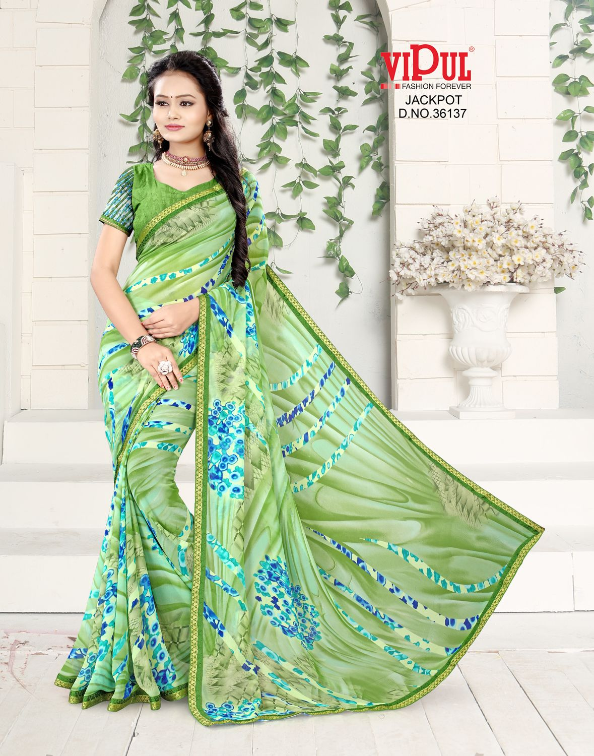 Fresh colors to abstract designs, sarees always say a new story of