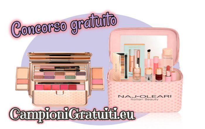 Aggiornamento: Concorso Naj Oleari vinci kit di prodotti