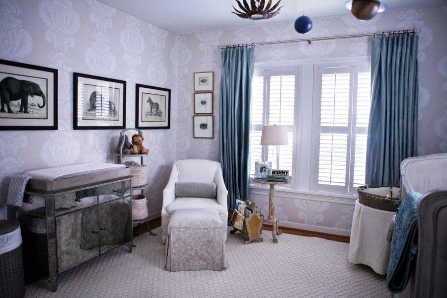 Elegant Baby boy Room Idea