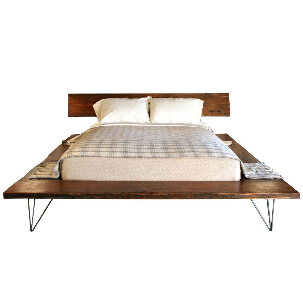 Clutter · Railcar Platform Bed By Croft House | Croft House Furniture ...