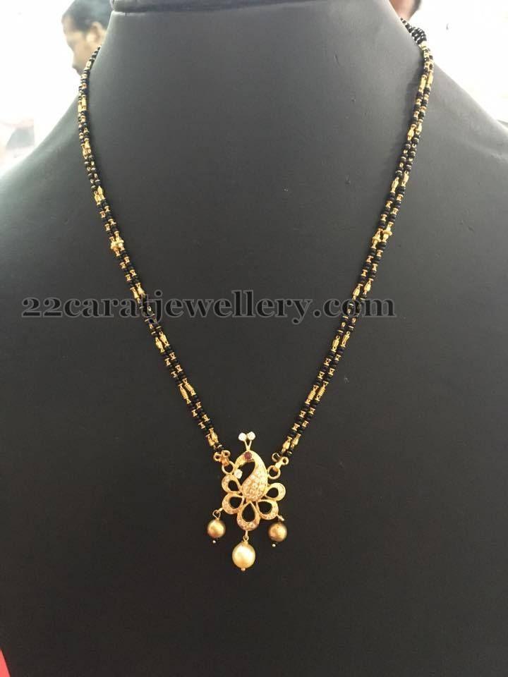 cerca genuino grande sconto prima clienti 12gms Simple Black Beads Gallery   jewellery   Collane