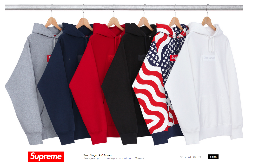 Supreme Box Logo Hoodie Fall Winter 2014  bf82b687d7
