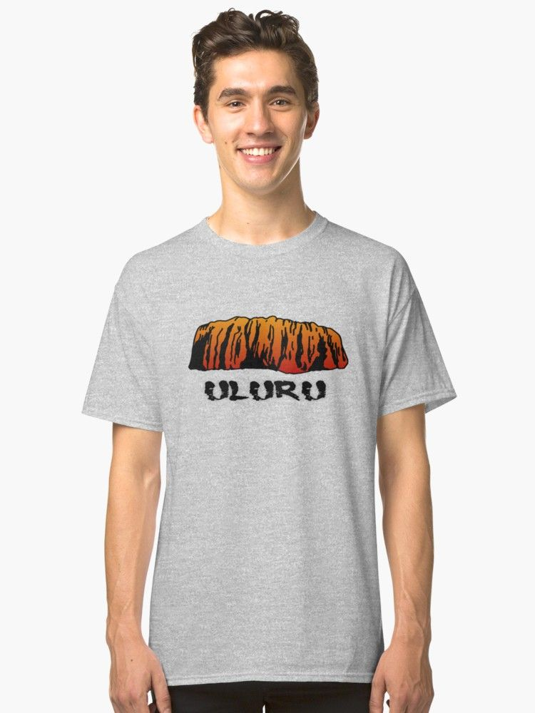 Men   shirt of australia famous largest rock in the world uluru also classic  australian design shirts rh pinterest