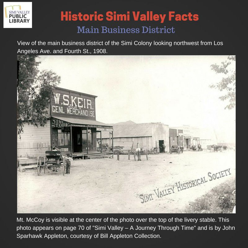 Pin By Simi Valley Public Library On Simi Valley History