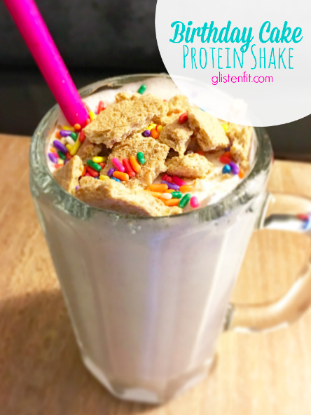 Birthday Cake Protein Shake Protien Recipes Shakes Smoothie Smoothies