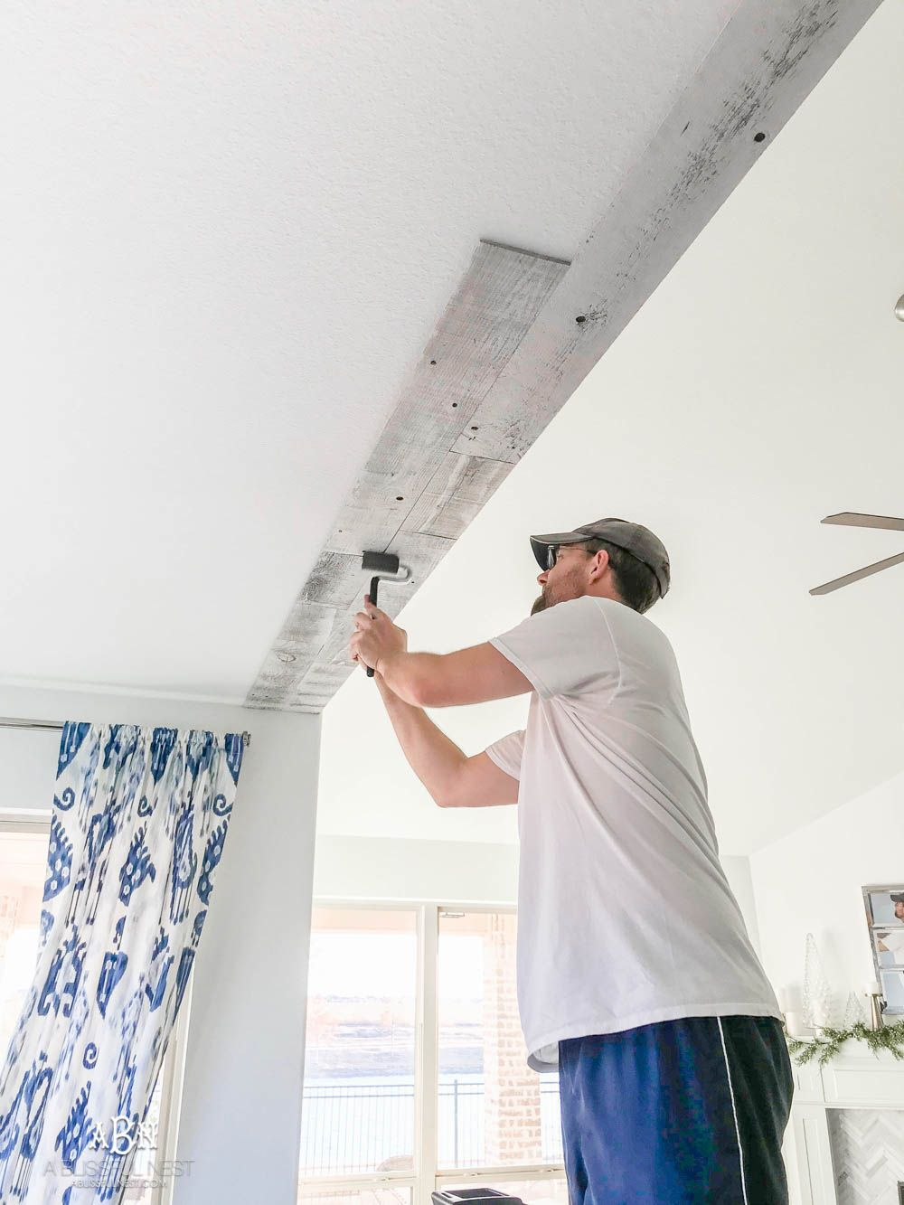 How To Install A Farmhouse Reclaimed Wood Ceiling With Stikwood Reclaimed Wood Ceiling Wood Ceilings Stikwood