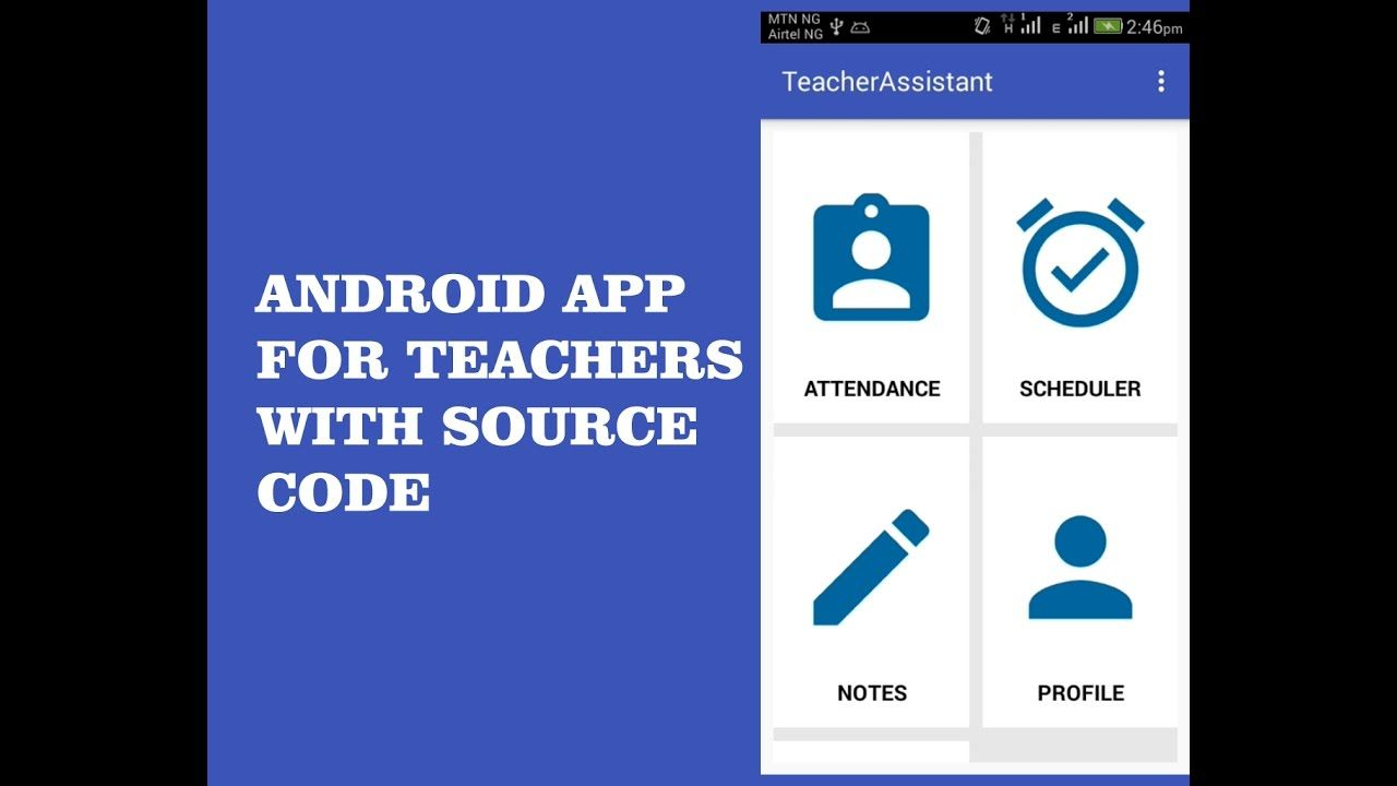 ANDROID MATERIAL APP FOR TEACHERS WITH SOURCE CODE | Delaroy