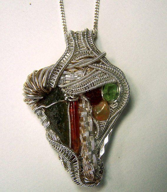 Custom made custom wire wrap crystal jewelry necklace pendant custom made custom wire wrap crystal jewelry necklace pendant earrings rings brooch aloadofball Choice Image