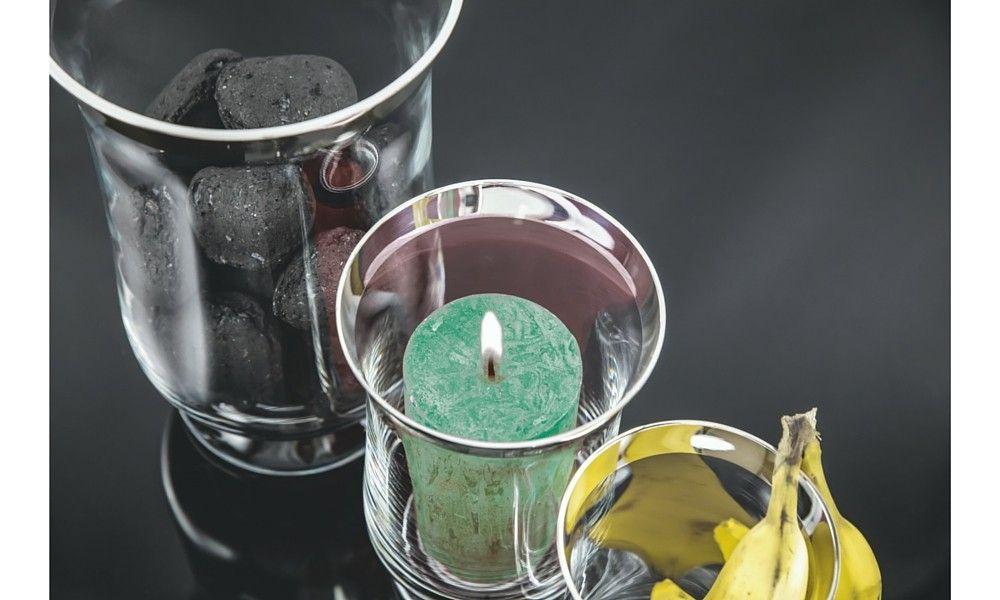 Wohnaccessoires silber  Windlicht Tonio Feinsilber - sonja quandt silbermanufaktur ...