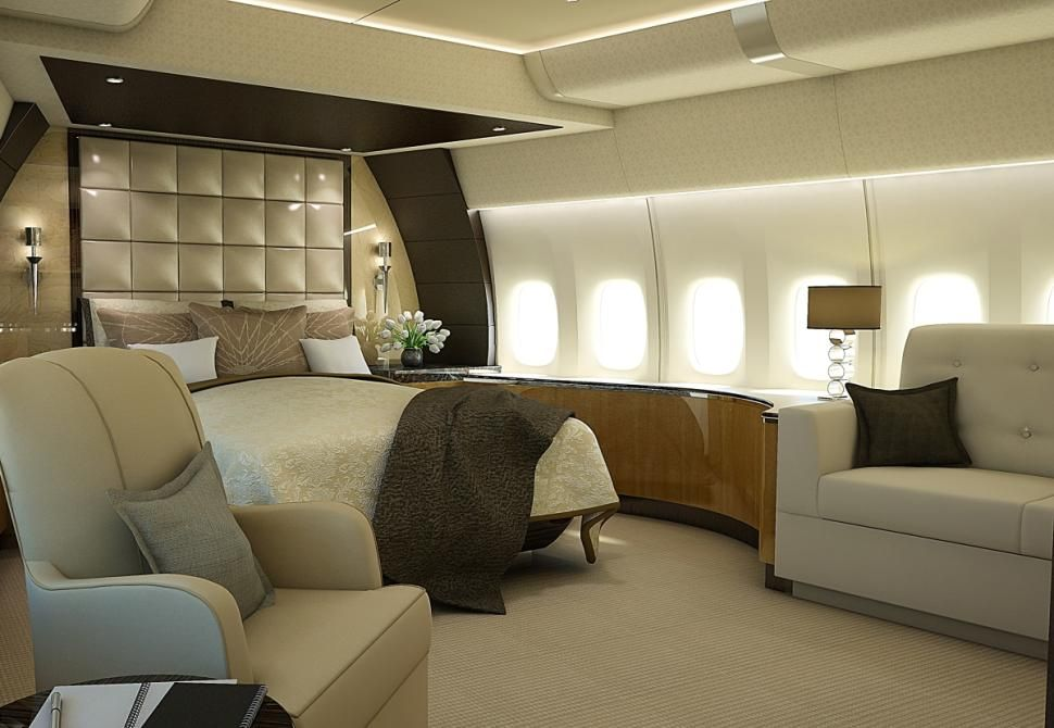Stunning Photos Show Inside Of Customized Boeing 747 8 Vip Private Jet Interior Private Jet Luxury Private Jets