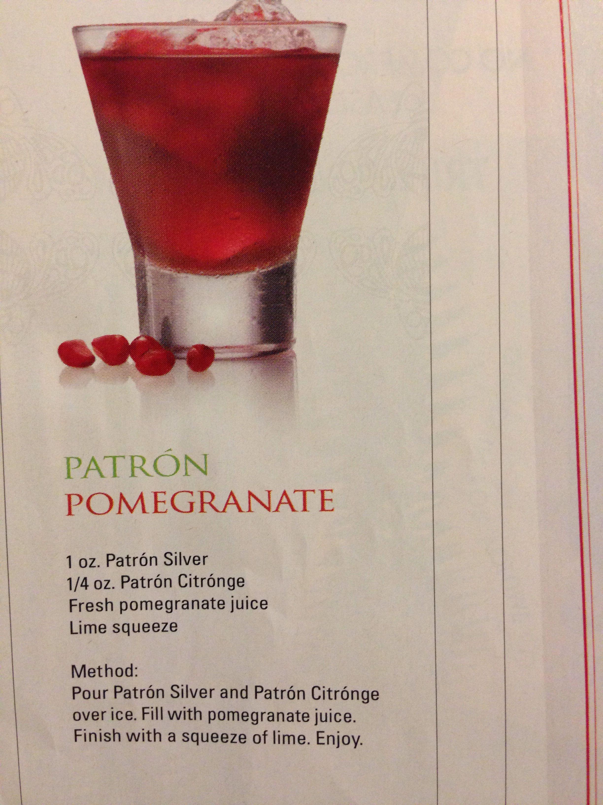 Patron pomegranate