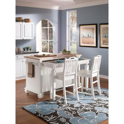 Broyhill Mirren Harbor Kitchen Island 1145 I Love The Idea Of A Pull Out Surface For Eating Or Just Ex Home Kitchen Island With Seating Best Kitchen Designs