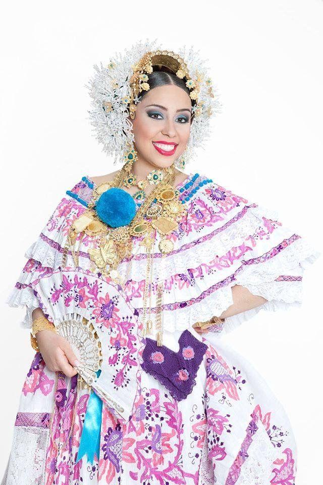Pollera, Panama | Panama Culture | Panama, Saree, Country