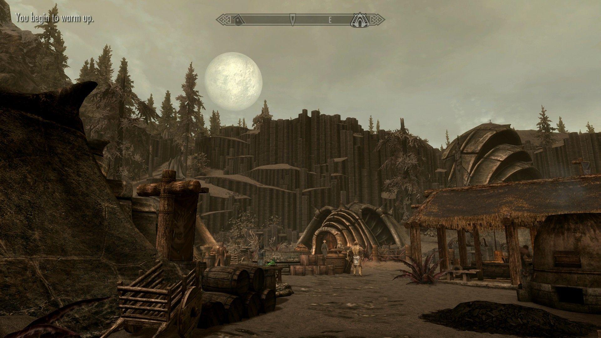 Embla Ysmir Ericsdotter touring Solstheim Morrowind