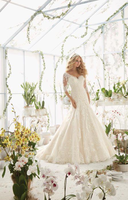 Mori Lee Bridal 2812 Mori Lee Bridal by Madeline Gardner Elegant ...