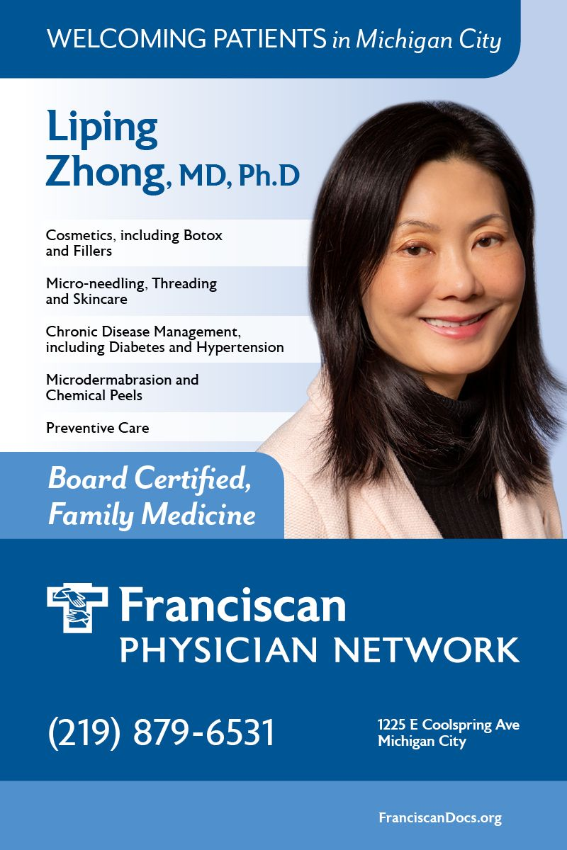 Need a primary care physician in Michigan City? Liping L