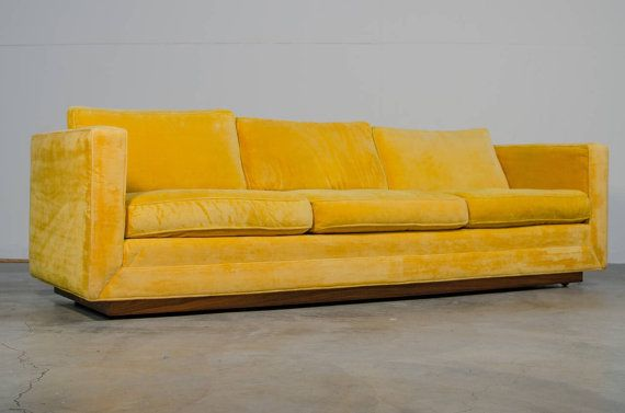 Milo Baughman Floating Sofa For Thayer Coggin Sofa Furniture