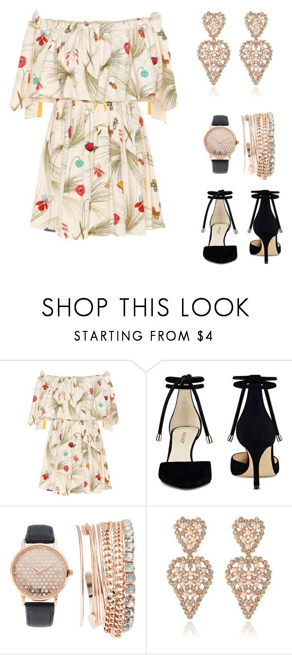"""""""Untitled #25"""" by raianecritina ❤ liked on Polyvore featuring Fendi, Nine West and Jessica Carlyle"""