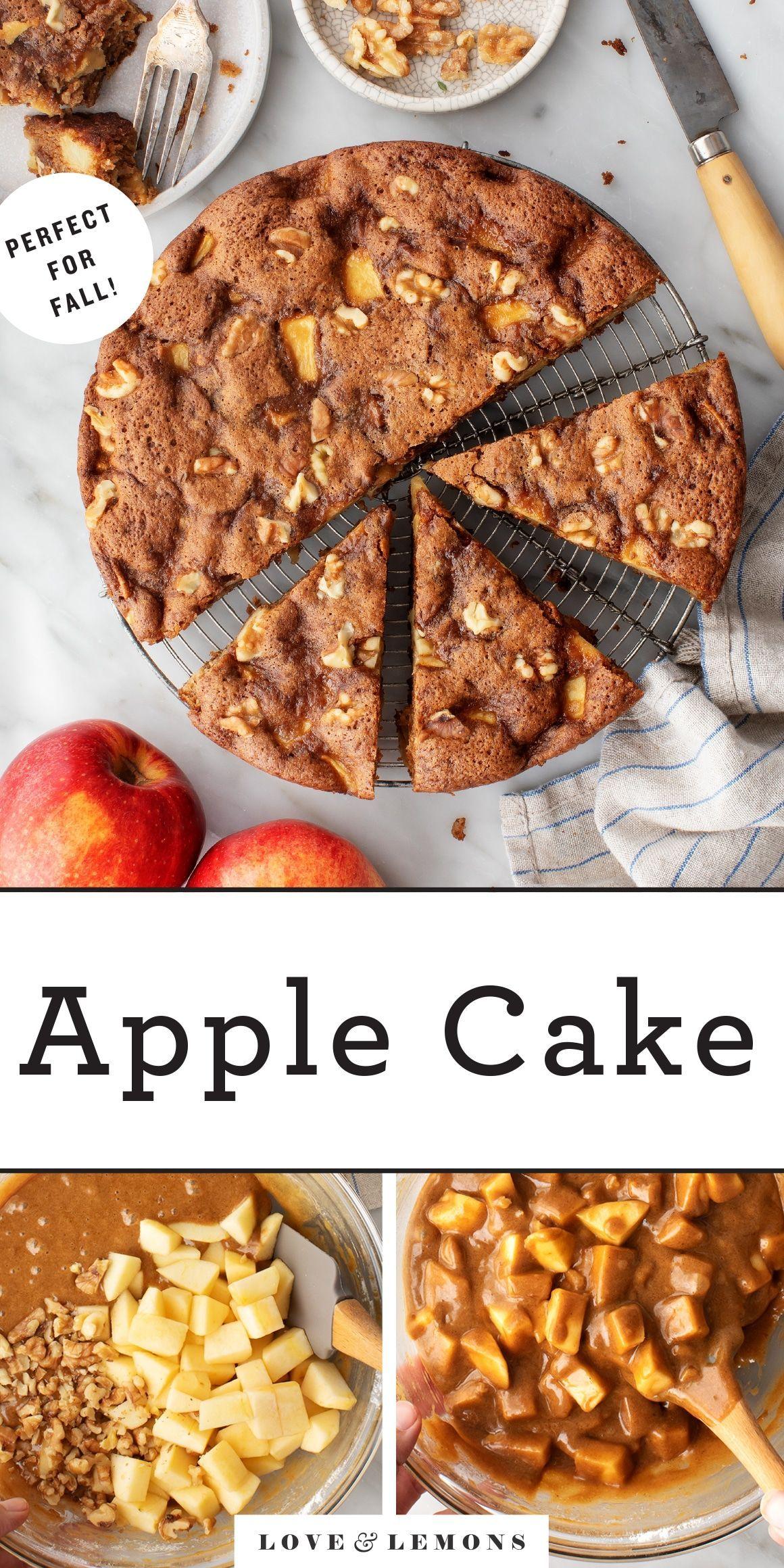 Apple Cake Love And Lemons Recipe Recipes Apple Cake Recipes Apple Cake