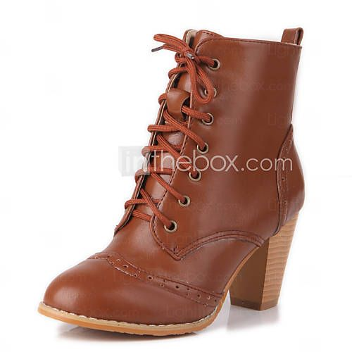 Outdoor Office, Casual Boots, Combat Boots, Chunky Heels, White P, Online  Buying, Cowboy Boot, Career, Rounding. Women's Round Closed Toe ...