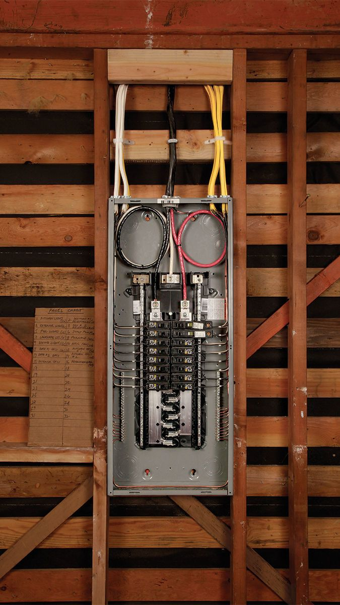 How to Install an Electrical Subpanel - Fine Homebuilding