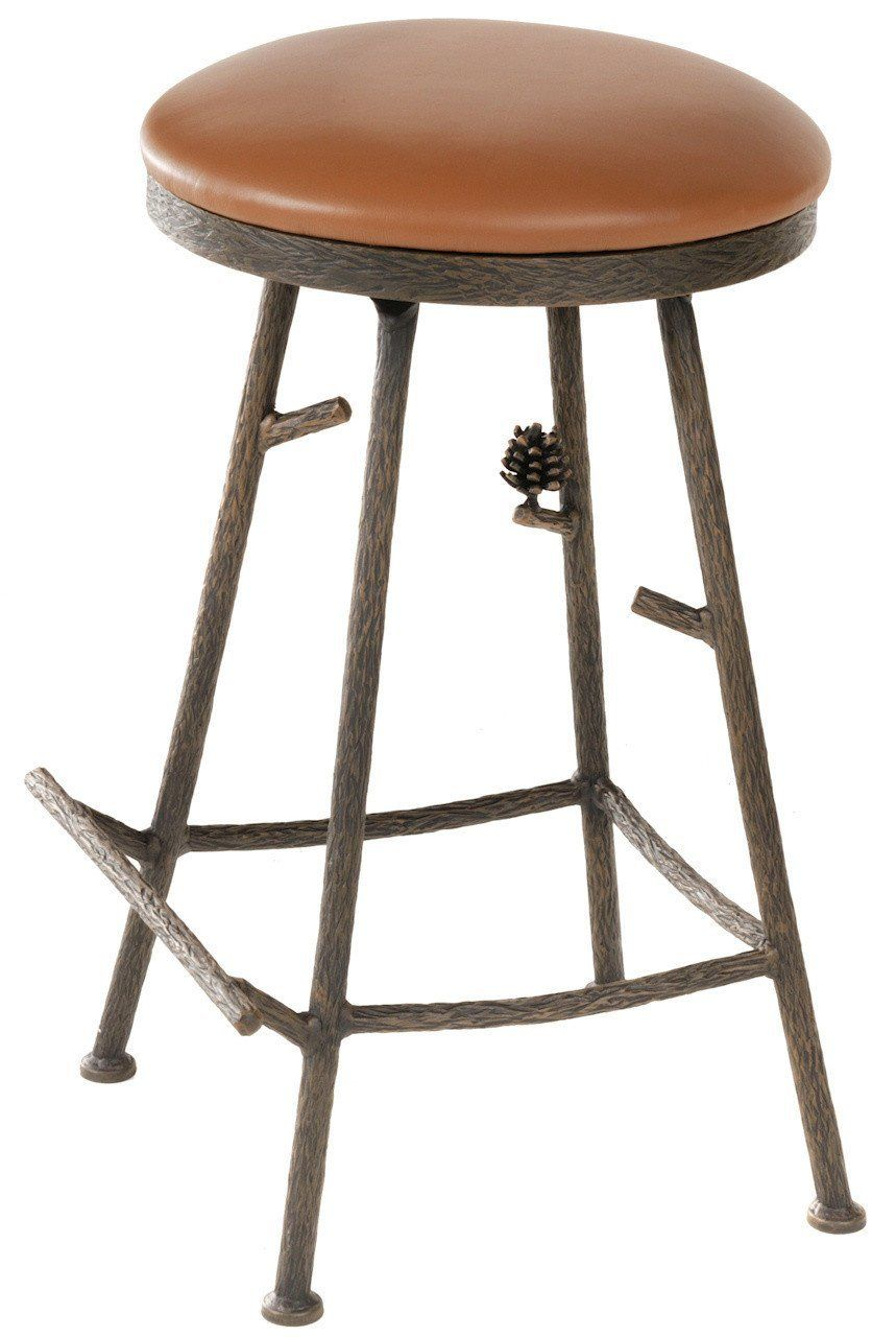 Excellent Stone County Ironworks 904 214 Ltn Pine Barstool No Back Caraccident5 Cool Chair Designs And Ideas Caraccident5Info