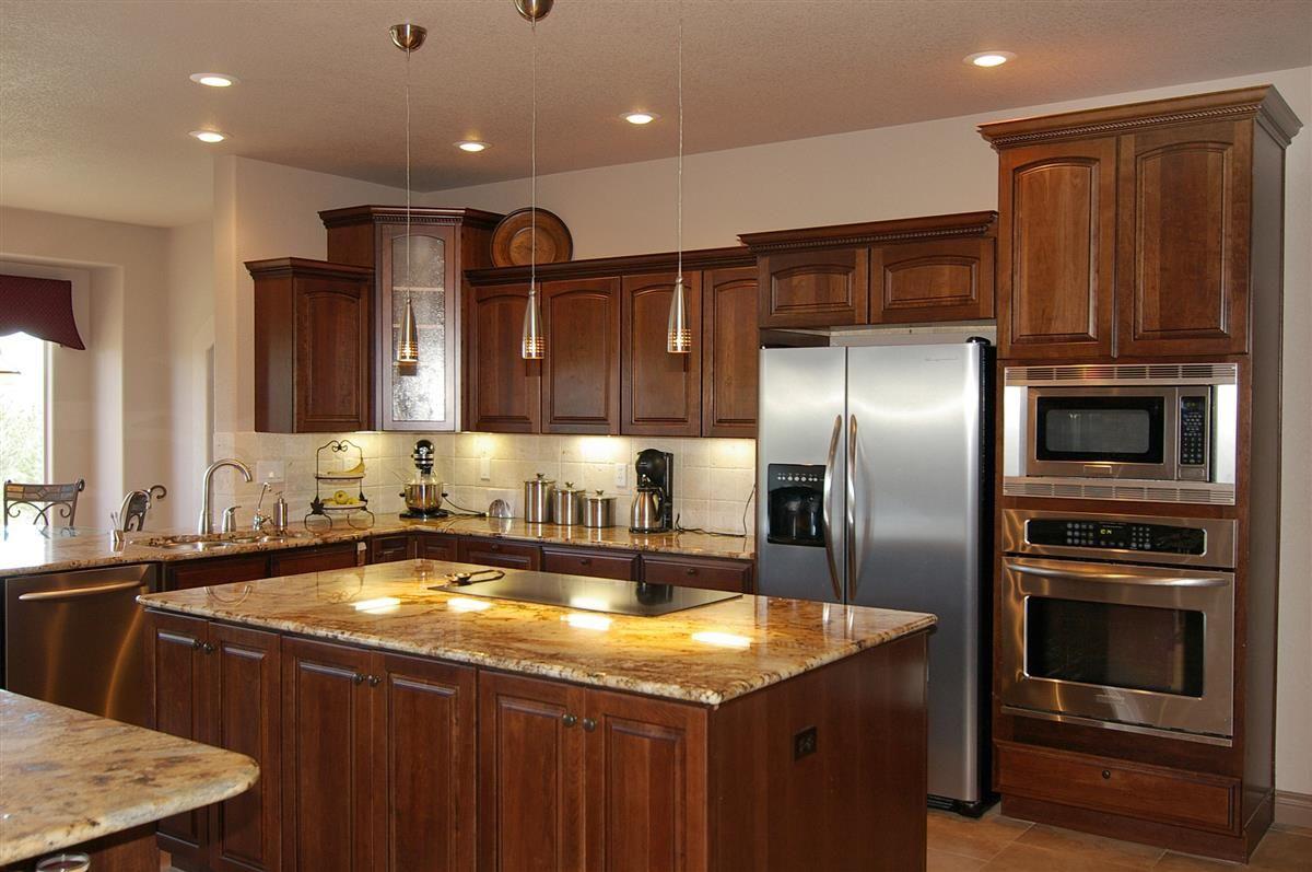 Small Kitchen With Island Floor Plan Open Kitchen Design Ideas With Wonderful Brown Open Kitchen Floor Kitchen Design Open Kitchen Plans Luxury Kitchen Island