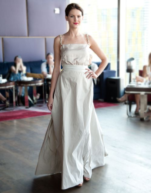 Lanvin S Blanche Collection Features A Selection Of Wedding Dresses That Can Be Best Described As Both