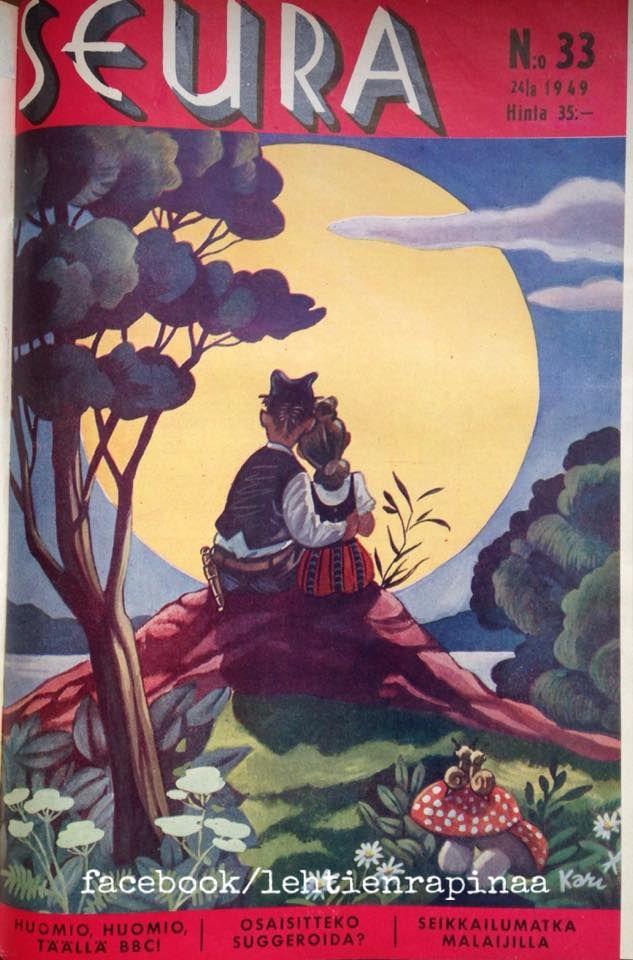 Seura-lehti 1949, Kansi Kari Suomalainen