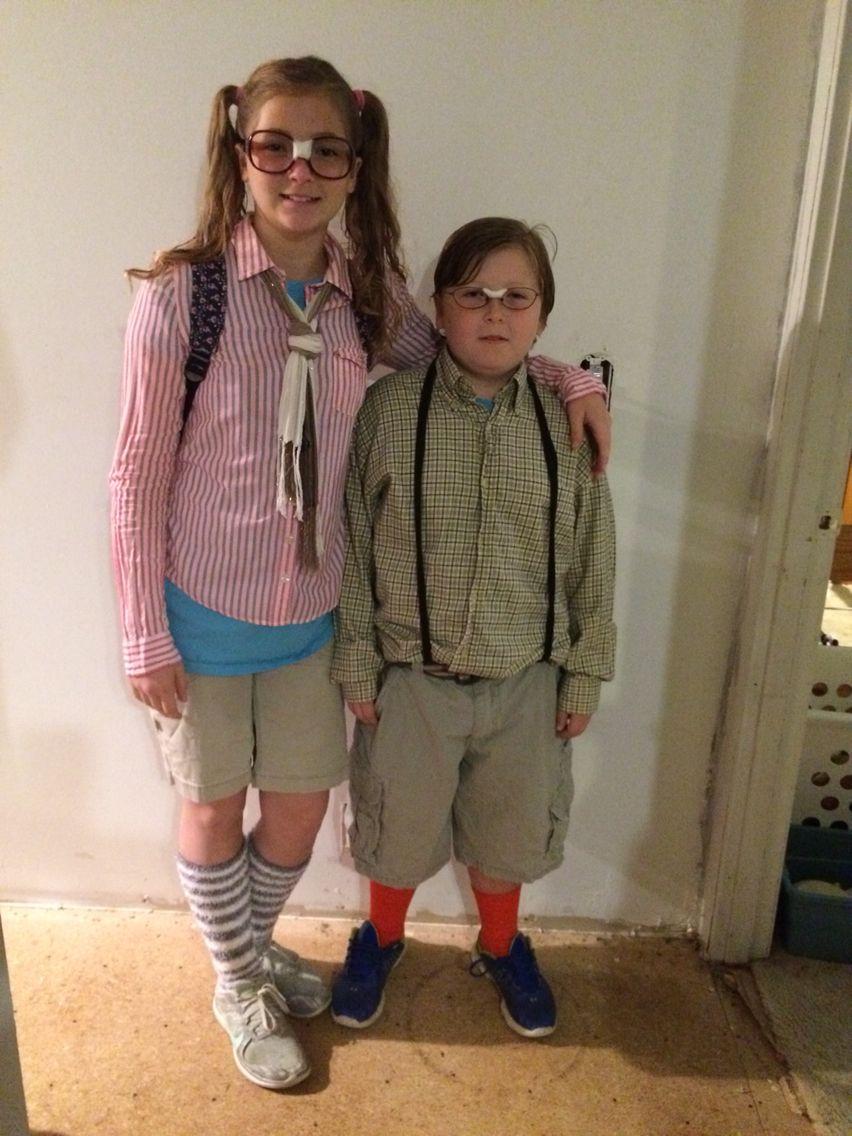 Nerd Day At School Dress Up Like Nerd Nerd Costume Boy -5496