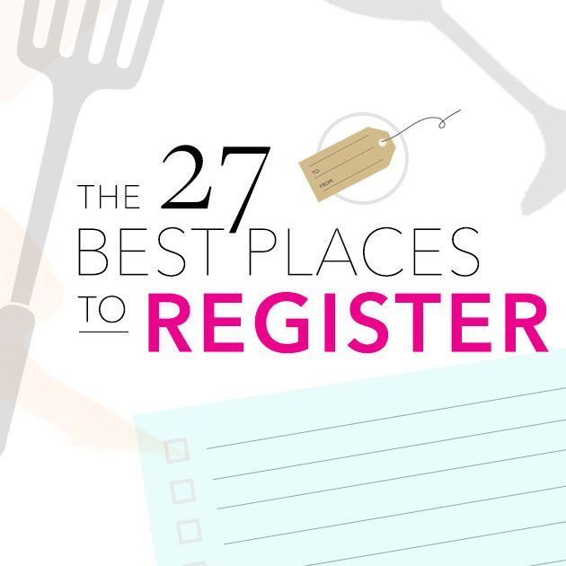 Wedding Registry List Ideas: Where To Register: The 50 Best Wedding Registry Sites