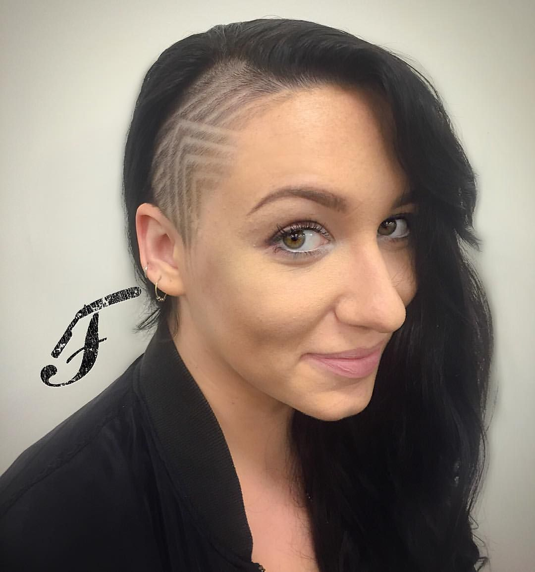 Sidecut Hair Tattoo Sidecuts Amp Undercuts Pinterest