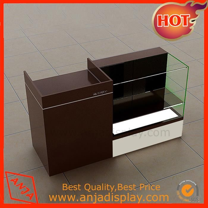 Wholesale Wooden Countertop Display Case Shop Display Units